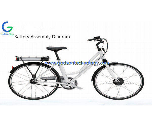 E-bike Battery 36V 10Ah Guangmang