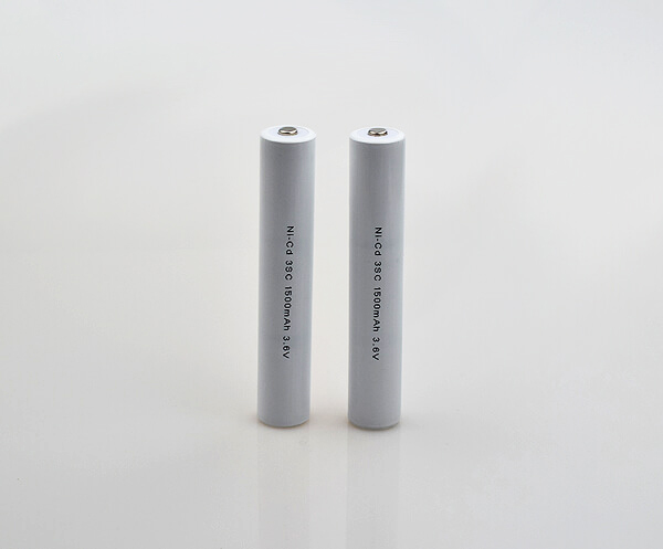 Ni-Cd Battery Pack 3SC 1500mAh 3.6V