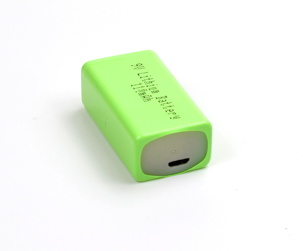 ​9V 110mAh Lithium Battery with USB