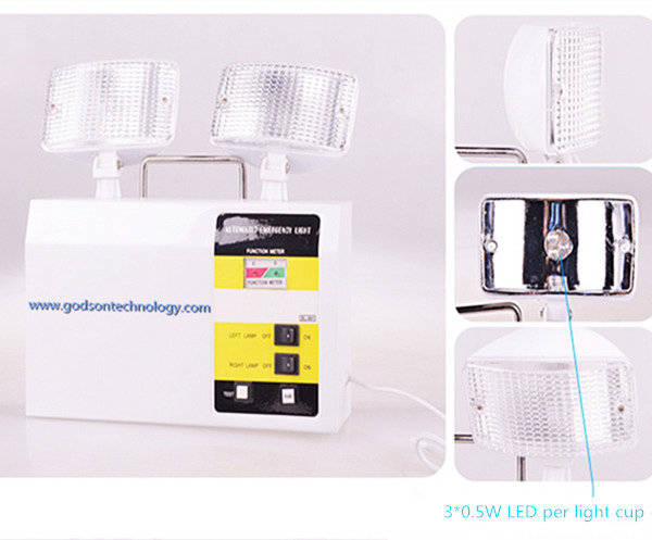 Emergency Light HC1038 6V