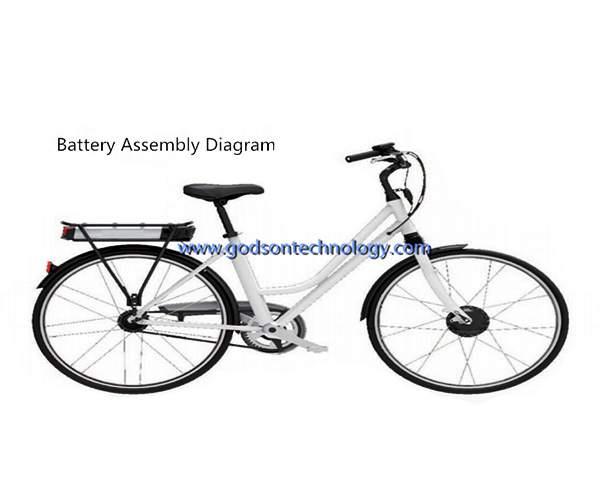 E-bike Battery 36V 10Ah Guangmang