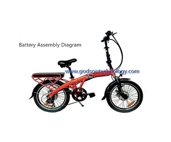 E-bike Battery 36V 8Ah Yiliyijia