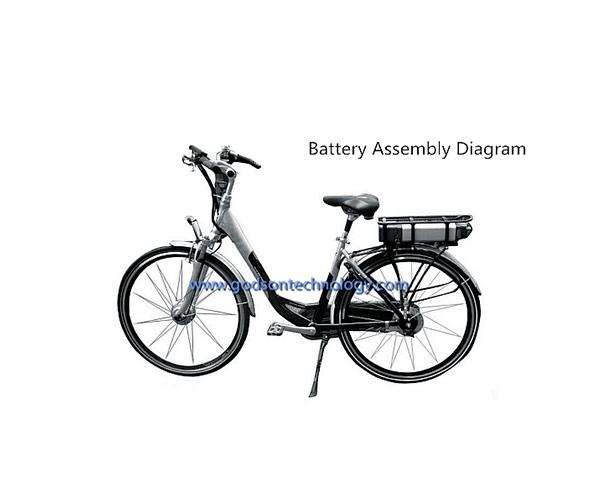 E-bike Battery 36V 8Ah JL-1