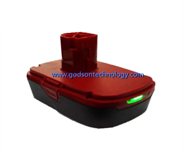 Power Tool Battery Craftsman-19.2V Li-ion