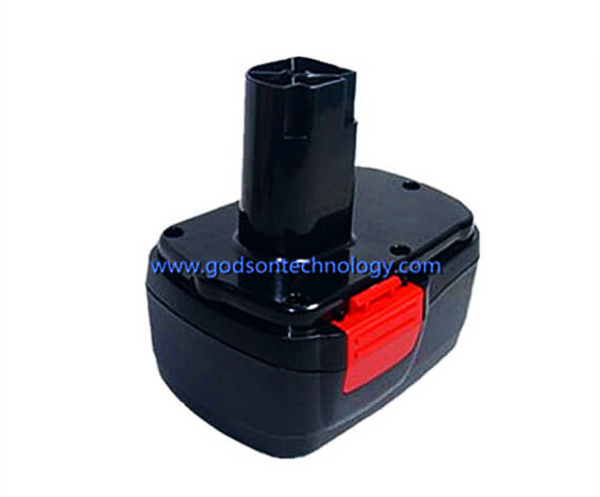 Power Tool Battery Craftsman-14.4V Ni-Cd/Ni-MH