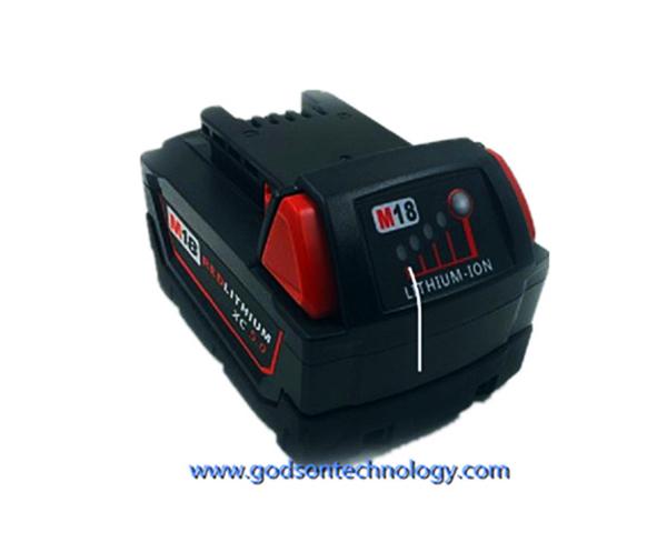 Power Tool Battery Milwaukee-18V Li-ion