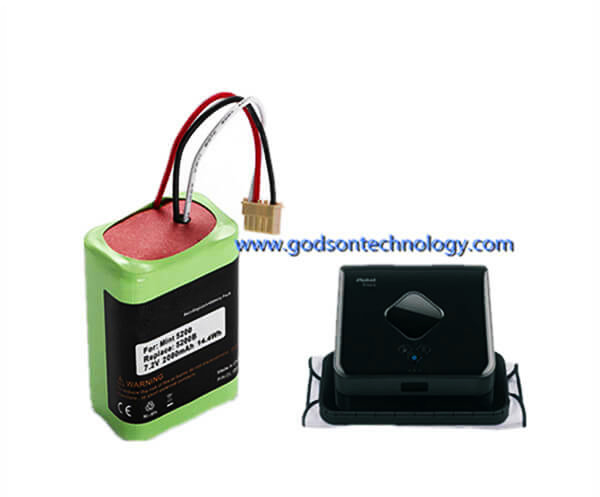 Vacuum Cleaner Battery Braava 380 Ni-MH