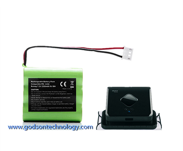 Vacuum Cleaner Battery Braava 320 Ni-MH