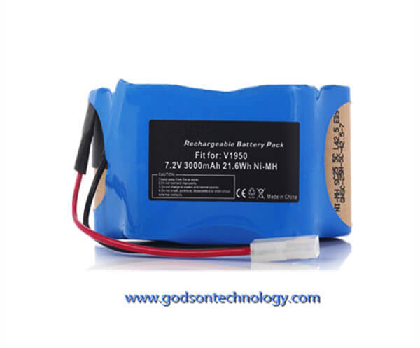 Vacuum Cleaner Battery Euro-pro Shark 7.2V Ni-MH