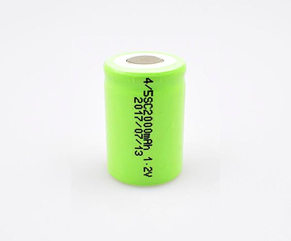 Ni-MH Battery Cell 4/5SC 2000mAh 1.2V