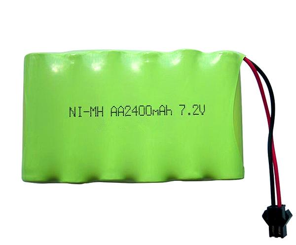 Ni-MH Battery Pack AA2400mAh 7.2V