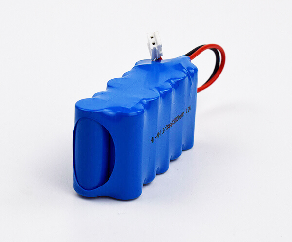 Ni-MH Battery Pack 2/3AAA 300mAh 12V