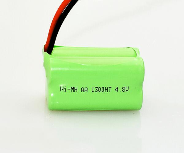 Ni-MH Battery Pack AA 1300mAh 4.8V
