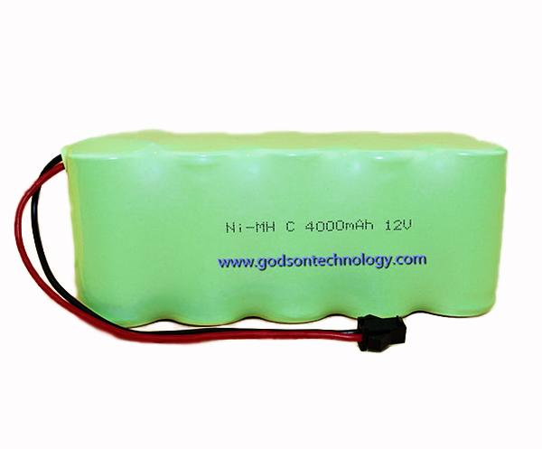 Ni-MH Battery C4000mAh 12V