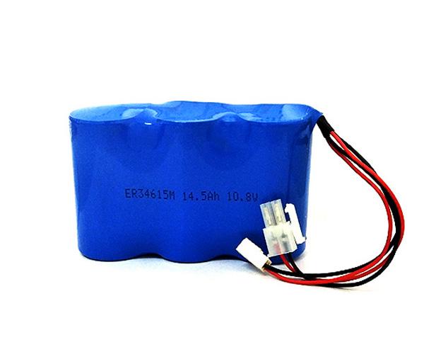 LiSOCL2 Battery ER34615M 14.5Ah 10.8V