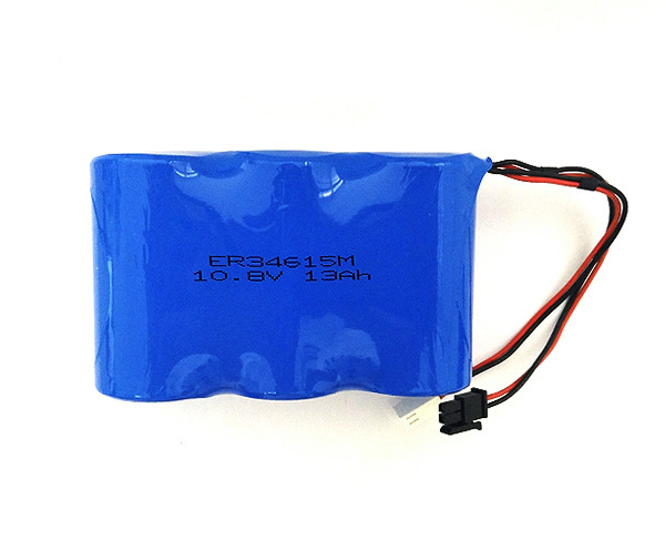 LiSOCL2 Battery ER34615M 13Ah 10.8V