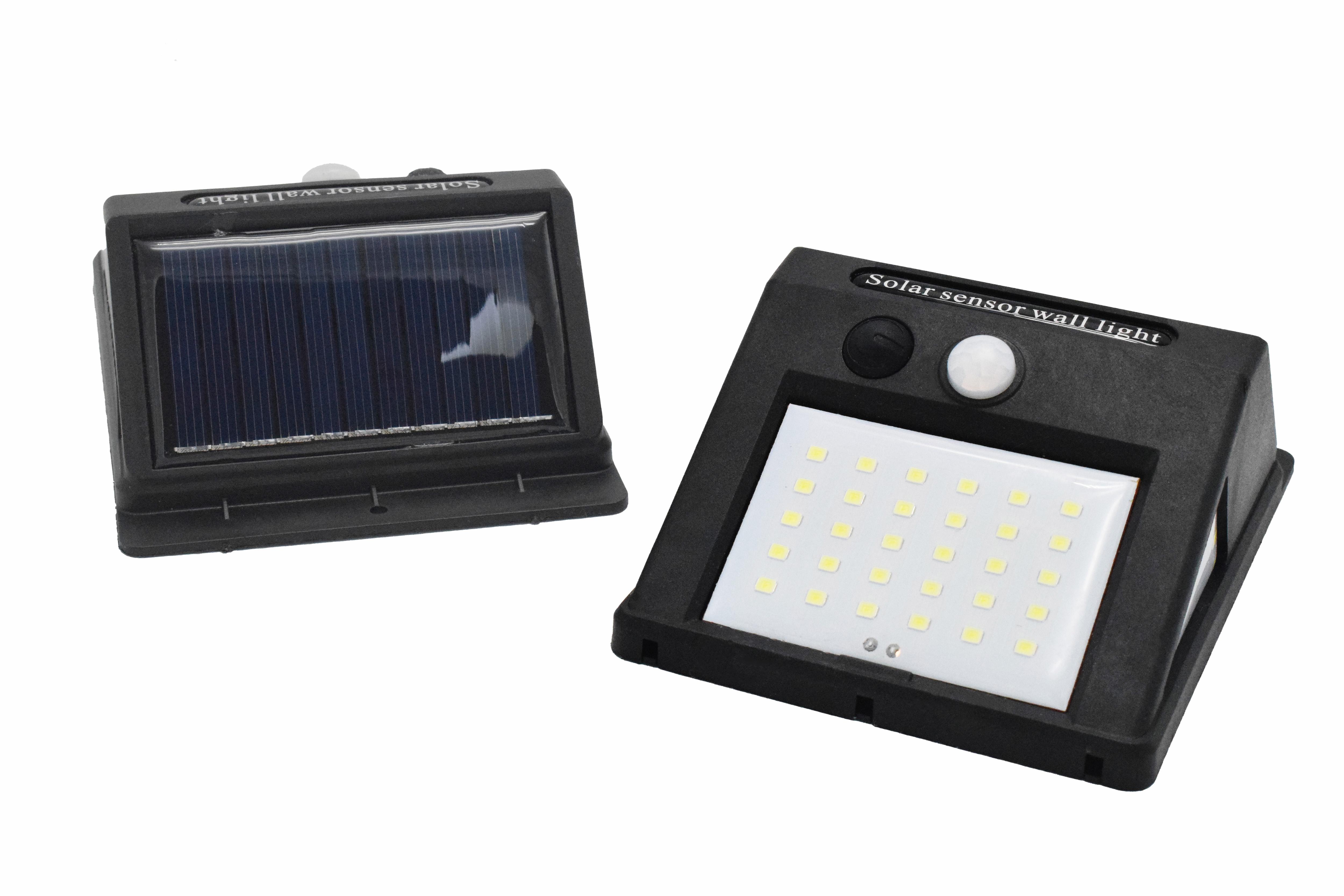 Solar powerful LED wall light