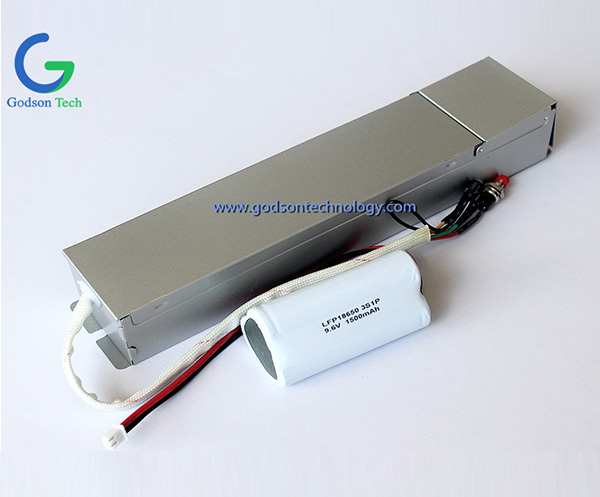 Emergency Power Pack LFP 18650 1500mAh 9.6V