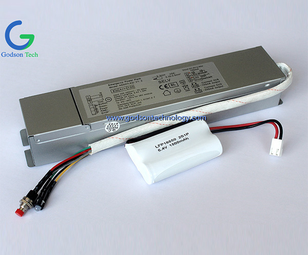 Emergency Power Pack LFP 18650 1500mAh 6.4V