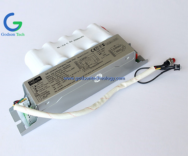Emergency Power Pack Ni-Cd C2500mAh 6V