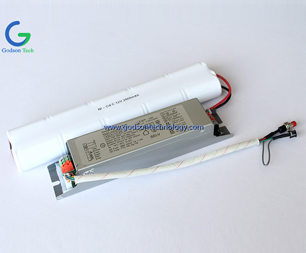 Emergency Power Pack Ni-Cd 12V C2500mAh