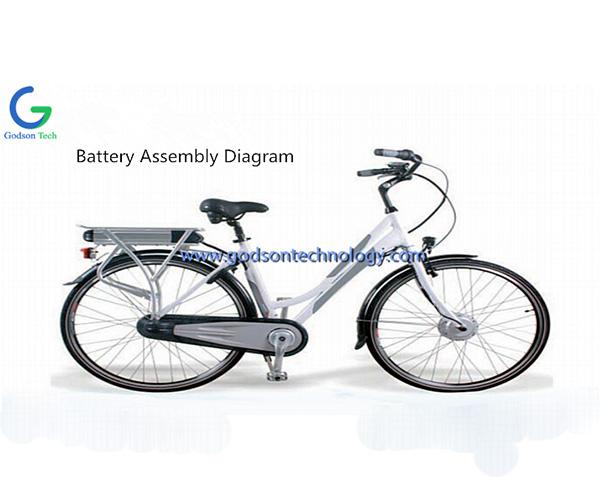 E-bike Battery 36V 8Ah Dolphin-1
