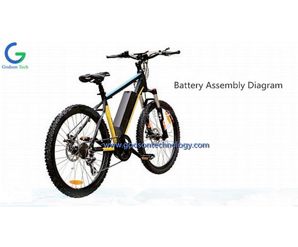 E-bike Battery 36V 8Ah Leiting-1