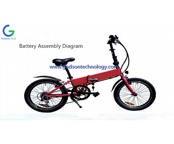 E-bike Battery 36V 10Ah NeizhiBattery