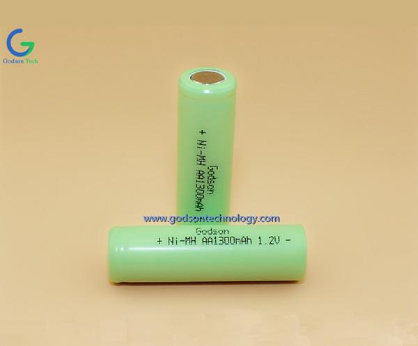 Ni-MH Battery AA1300mAh 1.2V