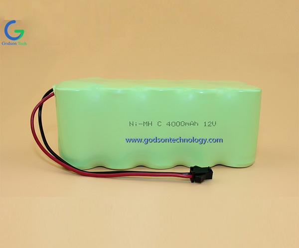 Ni-MH Battery C4000mAh 12V