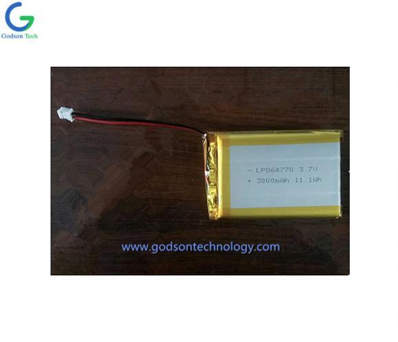 Li-Polymer Battery 864770 3000mAh 3.7V