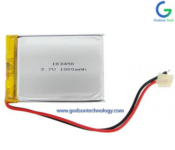 Li-Polymer Battery 103450 1800mAh 3.7V