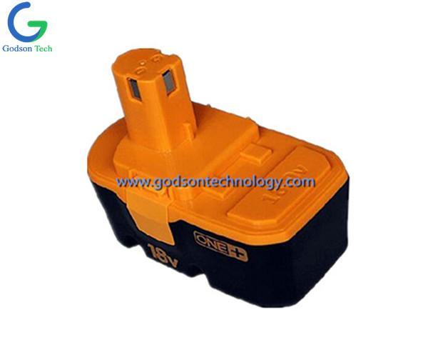 Power Tool Battery Ryobi-18V Ni-Cd/Ni-MH