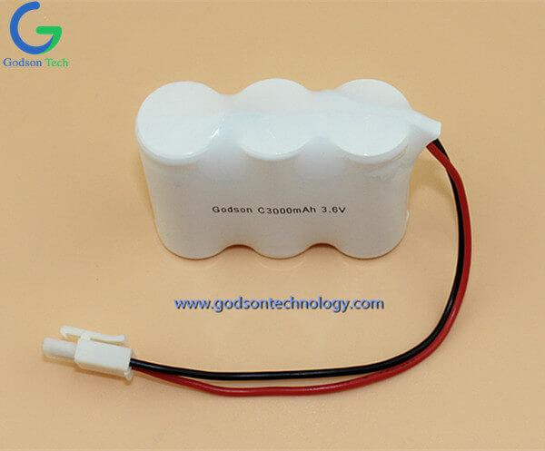 Ni-Cd Battery Pack C3000mAh 3.6V SBS