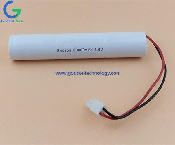 Ni-Cd  Battery Pack C3000mAh 3.6V Stick