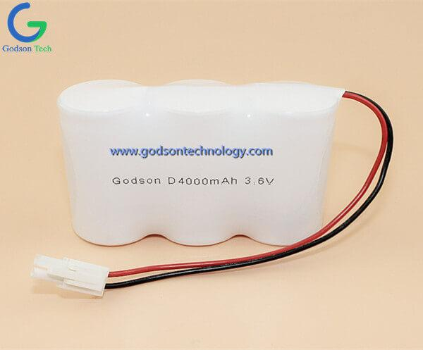 Ni-Cd Battery Pack D4000mAh 3.6V