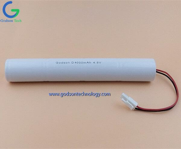 Ni-Cd Battery Pack D4000mAh 4.8V