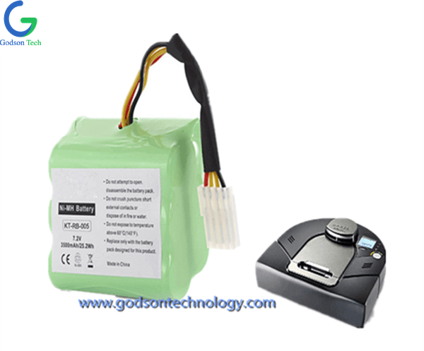 Vacuum Cleaner Battery Neato 7.2V Ni-MH