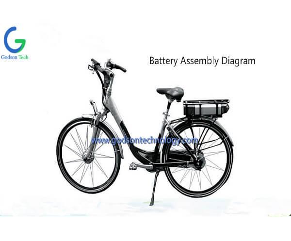 E-bike Battery 48V 10Ah JL-1