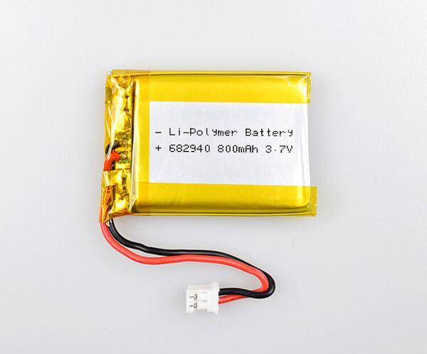 Li-Polymer Battery 682940 800mAh 3.7V