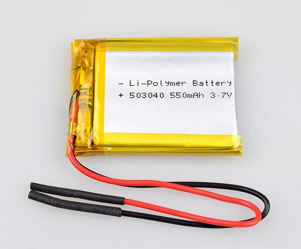 Li-Polymer Battery 503040 550mAh 3.7V