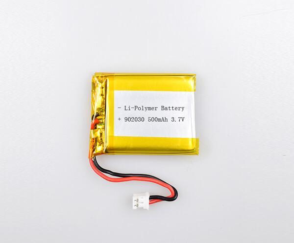 Li-Polymer Battery 902030 500mAh 3.7V