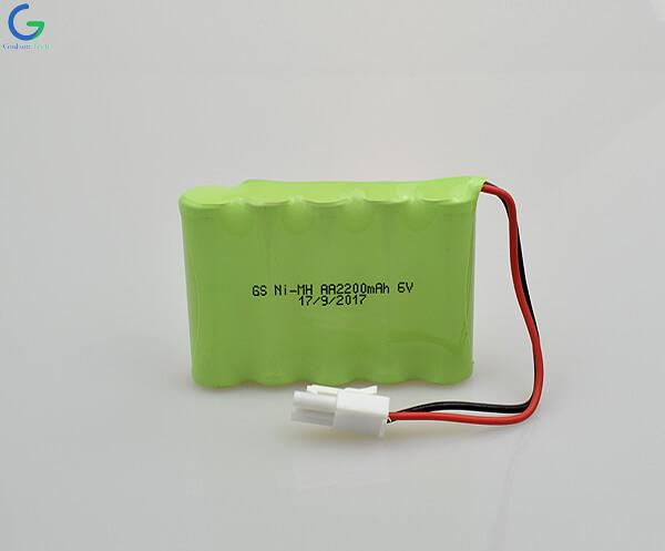 Ni-MH Battery AA2200mAh 6V