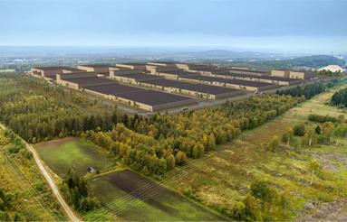 Northern Swedish city builds Europe's largest battery factory