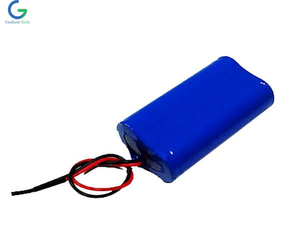 LiFePO4 Battery Pack IFR18650 6.4V 6000mAh