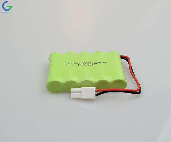 Ni-MH Battery AA 2200mAh 6.0V