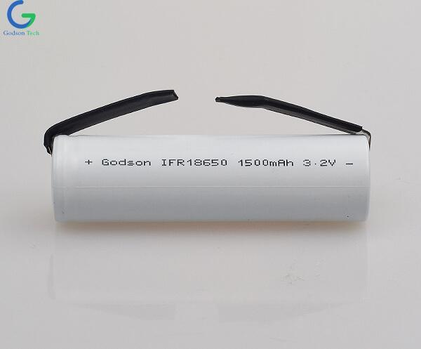 LiFePo4 IFR18650 3.2V 1500mAh