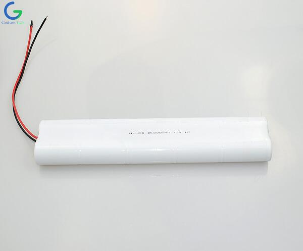 Ni-Cd Battery Pack D5000mAh 12V