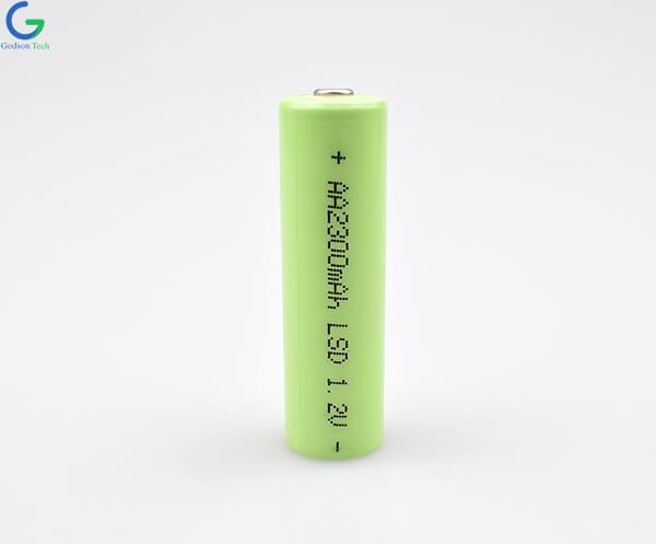 Ni-MH Battery Cell AA 2300mAh 1.2V