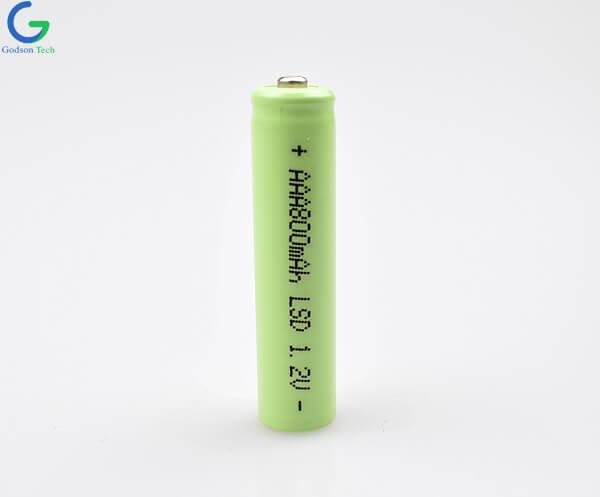 Ni-MH Battery Cell AAA 800mAh 1.2V